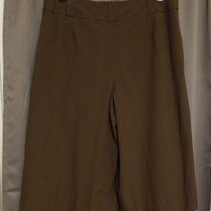 Talbots Pants - Talbots gaucho pants size 12